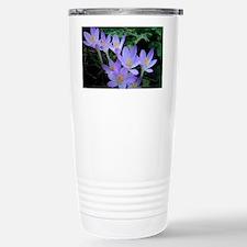 Violet Crocus Stainless Steel Travel Mug