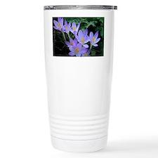 Violet Crocus Travel Coffee Mug