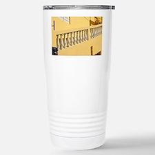 Yellow Stairway Stainless Steel Travel Mug
