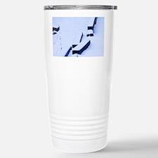 Zen Snow Stainless Steel Travel Mug