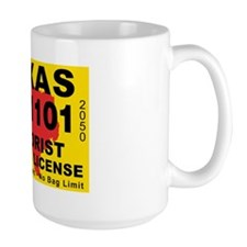 terrorist-hunting-license-XL-TX Mug