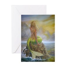 Dscn2303 mermaids perch portrait for Greeting Card