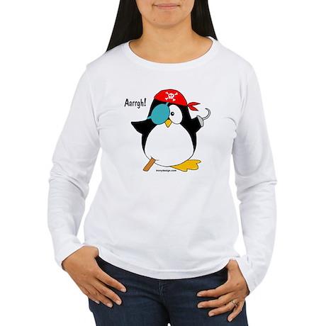 penguinpirateargh3000 Women's Long Sleeve T-Shirt