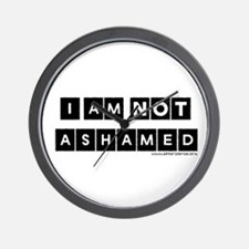 I'm Not Ashamed Wall Clock