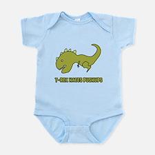 T-Rex Hates Pushups Body Suit