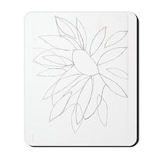 The sunflower Mousepad
