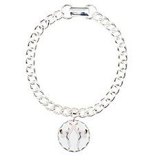 karate c(blk) Charm Bracelet, One Charm