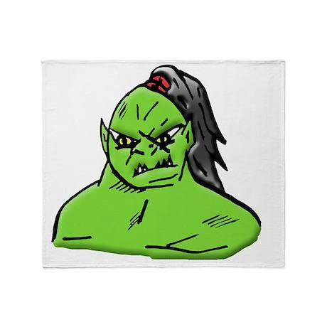 mutant Throw Blanket