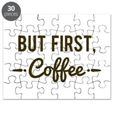 But First Coffee Puzzle