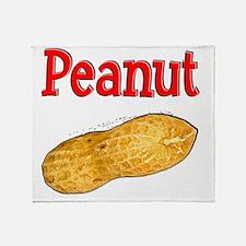 Peanut 1 Throw Blanket