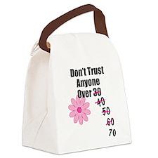 Dont Trust Canvas Lunch Bag