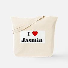 I Love Jasmin  Tote Bag