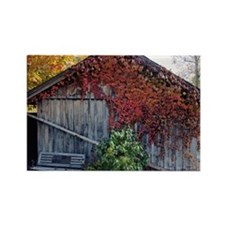 old_barn_mini Rectangle Magnet