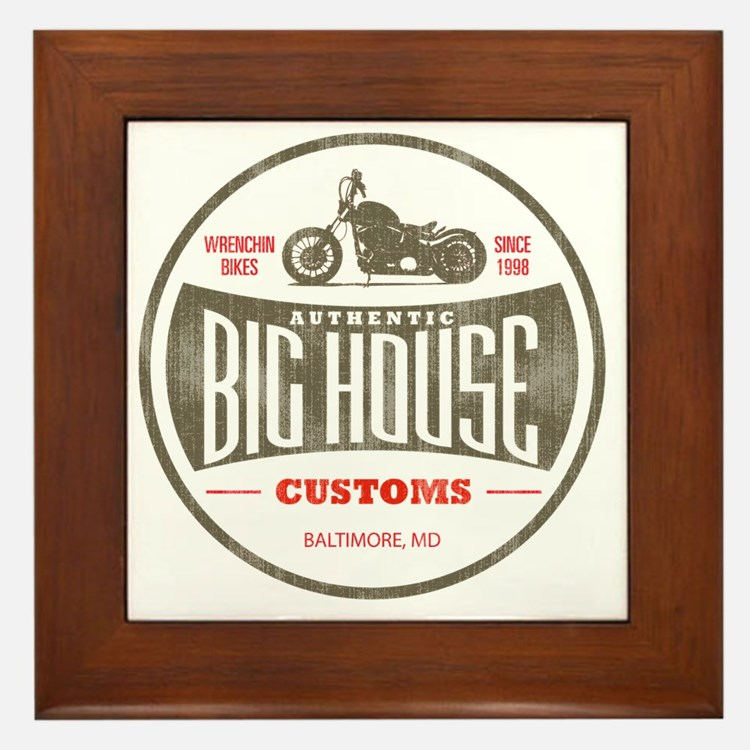 VintageBigHouse Framed Tile