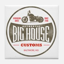 VintageBigHouse Tile Coaster