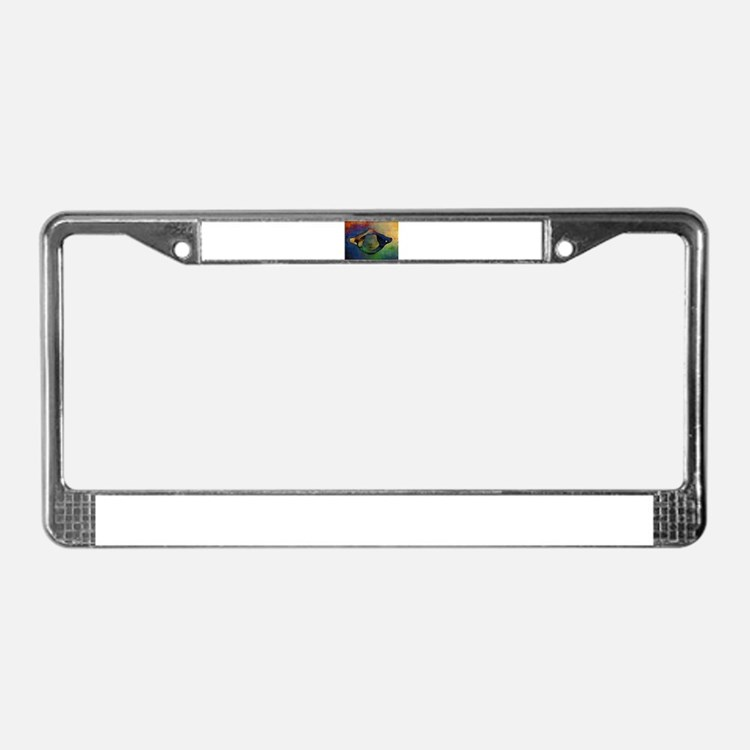 Atlas 16 License Plate Frame