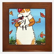 Autumn Breezes Framed Tile