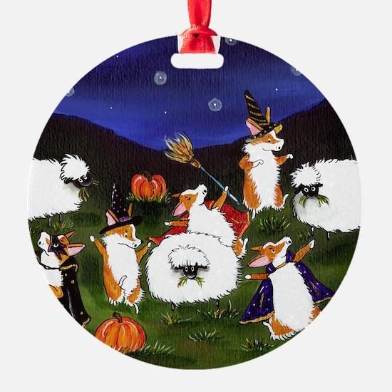 sheep spooks Ornament