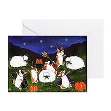 sheep spooks Greeting Card