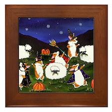 sheep spooks Framed Tile
