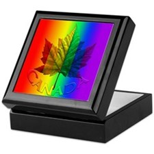 Gay Pride Canada Souvenir Keepsake Box & Gifts