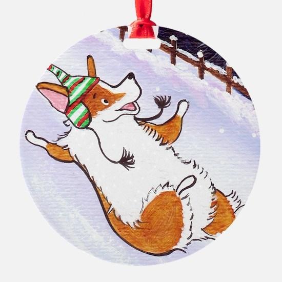 Slip and Slide Ornament