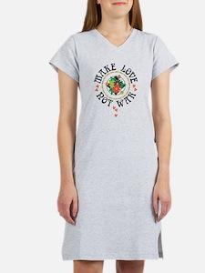 Make Love Not War Women's Nightshirt