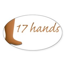 17 Hands Decal