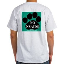 Ash Grey T-Shirt (back shown)