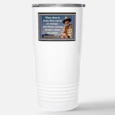 1LargeAbbey Stainless Steel Travel Mug