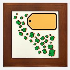 Price Tag Framed Tile