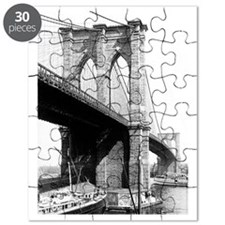 Brooklyn Bridge 1896 Puzzle
