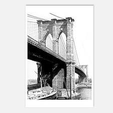 Brooklyn Bridge 1896 Postcards (Package of 8)