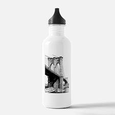 Brooklyn Bridge 1896 Water Bottle