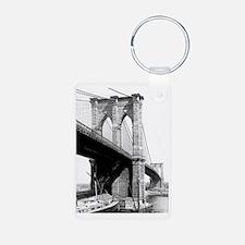 Brooklyn Bridge 1896 Keychains