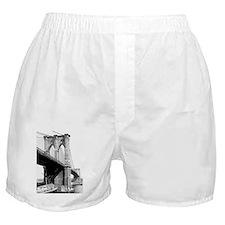 Brooklyn Bridge 1896 Boxer Shorts