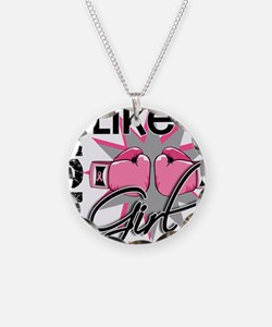 - Fight Like a Girl Breast C Necklace