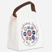 button_media Canvas Lunch Bag