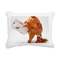 turky-poop Rectangular Canvas Pillow