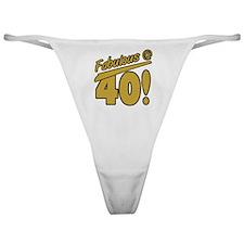 Fabulous At 40 Classic Thong