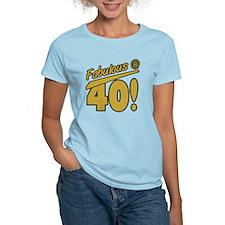 Fabulous At 40 T-Shirt