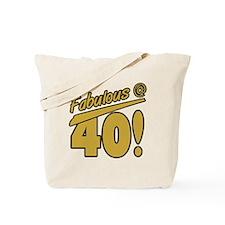 Fabulous At 40 Tote Bag