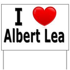 I Love Albert Lea Yard Sign