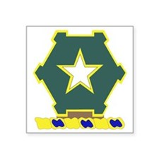 "36TH INFANTRY REGIMENT Square Sticker 3"" x 3"""