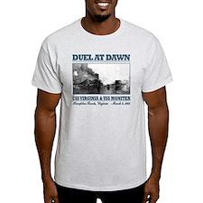 CSS Virginia vs USS Moniter 2 T-Shirt