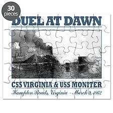 CSS Virginia vs USS Moniter 2 Puzzle