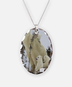 MPB journal Necklace Oval Charm