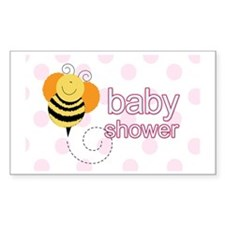 Bee Hop Baby Shower Sign Decal