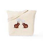 Chocolate Easter Bunnies Tote Bag