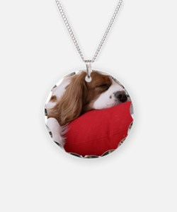 Spaniel pillow Necklace